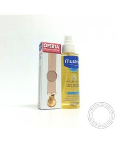 Mustela Oleo Massagem 100ml + Fita Rosa Chupa