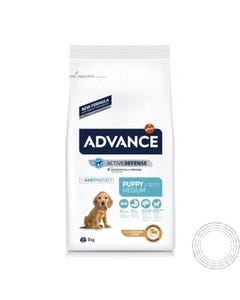 Advance Cão Medium Puppy Frango e Arroz 3KG