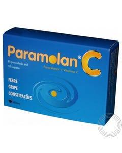 Paramolan C (500 mg + 250 mg) 20 Saquetas de Pó para Solução Oral