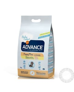 Advance Cão Mini Puppy Frango e Arroz 800G