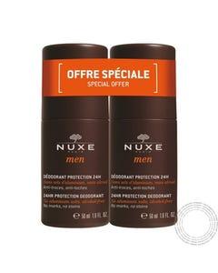Nuxe Men Desodorizante Protect 24H Roll-On 50Ml (Promoção 2 Un)
