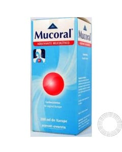 Mucoral Adulto 5% Xarope 200 ml