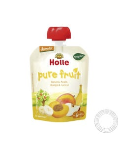 Holle Bio Saqueta Banana Lama +6m 100G