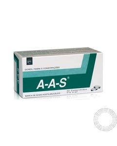 A-A-S 500mg  40 Comprimidos