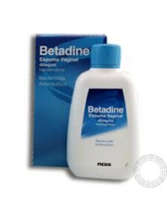 Betadine (40 mg/ml) 200 ml Espuma Vaginal