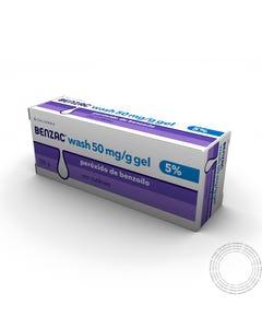 Benzac Wash 5 (50 mg/g) 100 g gel