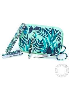 Beter Mini Travel Kit Essenciais Manicure Verde