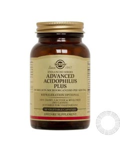 Solgar Advanced Acidophilus Plus 60 Caps