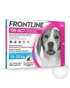 VET FRONTLINE TRI-ACT M 10-20KG 3 PIP