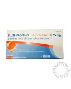 Flurbiprofeno Sandoz 8,75mg 24 Pastilhas