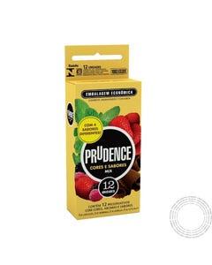 Prudence Preservativos Cores e Sabores Mix cx12