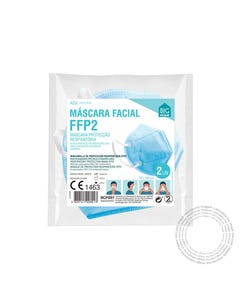 Mascara FFP2 BHC Azul Pack 2 Unidades