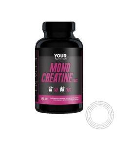 Your Nutrition Creatina Monohidratada 1g 60 Comprimidos
