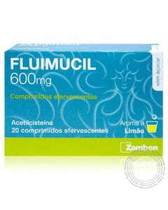 Fluimucil (600mg) 20 Comprimidos Efervescentes
