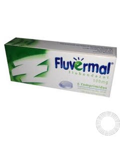 Fluvermal 100mg 6 Comprimidos