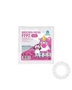Mascara FFP2 Infantil BHC Rosa Pack 2 Unidades