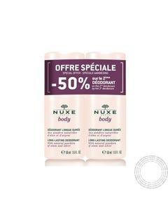 Nuxe Body Promo Desodorizante Longa Duração Roll-On 2x50ml