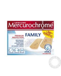 Mercurochrome Pensos Family 3T 50 Unidades