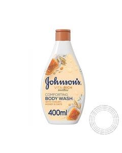 Johnson Gel Banho Vita-Rich Mel Aveia & Iogurte 400ml