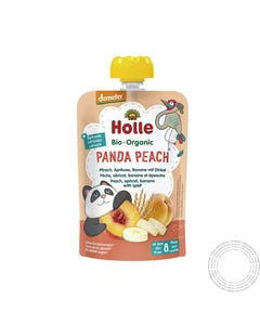 Holle Bio Saqueta Panda Peach +8m 100G