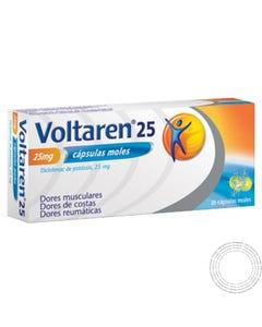 Voltaren 25 (25 mg) 20 Cápsulas moles