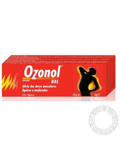 Ozonol (50mg/g) 50 g Gel