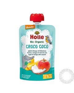 Holle Bio Saqueta Croco Côco +8M 100G