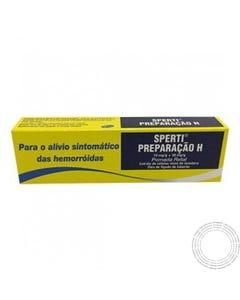 Sperti Preparação H (10mg/g+30mg/g) 25 g Pomada Retal