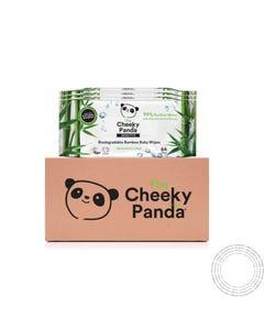 Cheeky Panda Bebe Toalhitas Biodegradáveis Bambu 64 Un