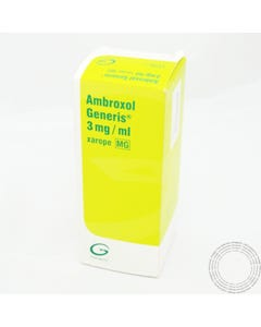 Ambroxol Generis 3 mg/ml Xarope 200 ml