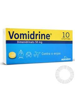 Vomidrine (50mg) 10 comprimidos