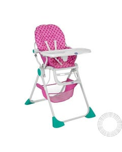 Chicco Cadeira Papa Pocket Lunchicco Rosa