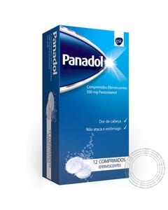 Panadol (500mg) 12 Comprimidos Efervescentes