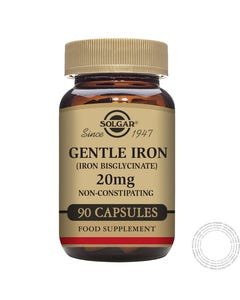 SOLGAR GENTEL IRON 20MG 90 CAPS