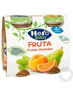 Hero Baby Sumo Uva, laranja, banana 2X130ml