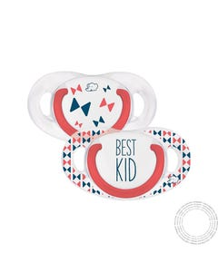Bebe Confort Chupeta Physio Silicone 6-18M Best Kid 2 Unidades