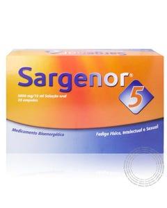 Sargenor 5 (5000 mg/10 ml) 20 x 10 ml Solução Oral
