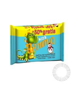 Renova Toalhitas Higiene Kids Travel Promoção 60 Unidades