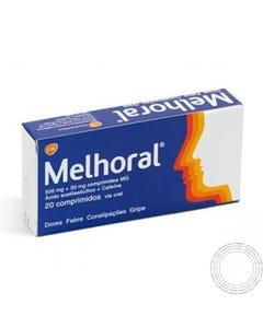 Melhoral (500 mg + 30 mg) 20 comprimidos