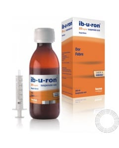 Ib-u-ron 20mg/ml  Suspensão Oral 200ml