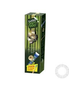 Woobamboo Promo Fio dentário + Pasta + Oferta Escova