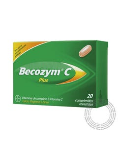 Becozyme C Plus  30 Comprimidos.