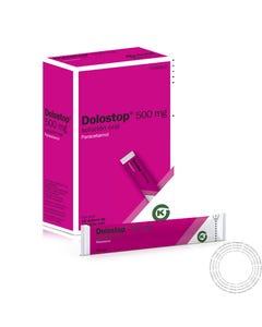 Dolostop (500 mg/10 ml) 20 Saquetas de solução oral