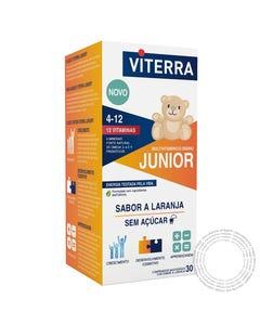 Viterra Junior Multivitamínico 30 comprimidos mastigáveis