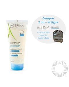 A-Derma Primalba Gel Corpo Cabelo 200ml