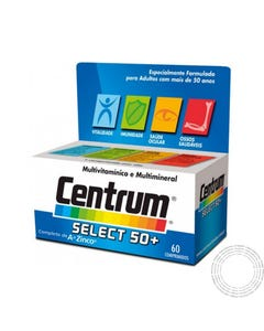 Centrum Select 50 + 30  Comprimidos Revestidos