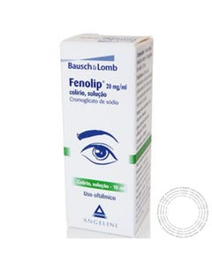 Fenolip (20mg/ml) 10 ml Colírio