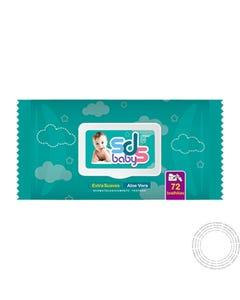 Toalhitas SDS Baby para Bebé 72 Unidades