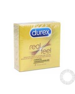 Preservativos Durex Feels Cx3