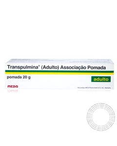 Transpulmina (Adulto) (25mg/g+100 mg/g+50mg/g) 20 g Pomada